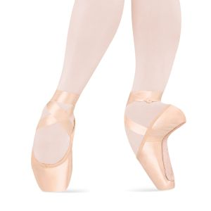B – 231 Bloch Jems Pink Peach Dance Satin XSOqdI